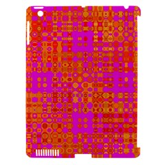 Pink Orange Bright Abstract Apple Ipad 3/4 Hardshell Case (compatible With Smart Cover)