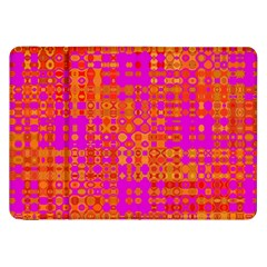 Pink Orange Bright Abstract Samsung Galaxy Tab 8 9  P7300 Flip Case