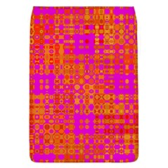 Pink Orange Bright Abstract Flap Covers (l)