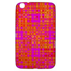 Pink Orange Bright Abstract Samsung Galaxy Tab 3 (8 ) T3100 Hardshell Case