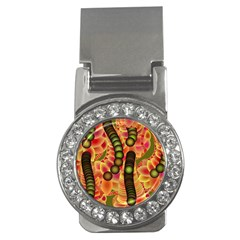 Abstract Background Digital Green Money Clips (cz)