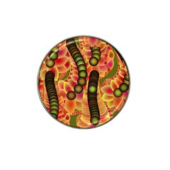 Abstract Background Digital Green Hat Clip Ball Marker