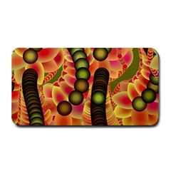 Abstract Background Digital Green Medium Bar Mats
