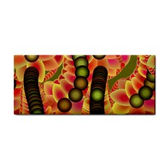 Abstract Background Digital Green Cosmetic Storage Cases