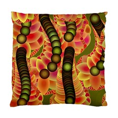 Abstract Background Digital Green Standard Cushion Case (One Side)