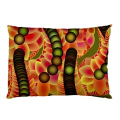 Abstract Background Digital Green Pillow Case (two Sides)