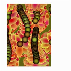 Abstract Background Digital Green Large Garden Flag (two Sides)