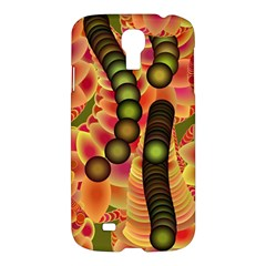 Abstract Background Digital Green Samsung Galaxy S4 I9500/I9505 Hardshell Case