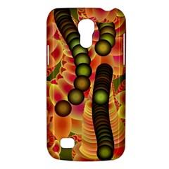 Abstract Background Digital Green Galaxy S4 Mini