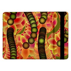 Abstract Background Digital Green Samsung Galaxy Tab Pro 12 2  Flip Case