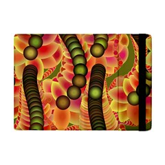 Abstract Background Digital Green Ipad Mini 2 Flip Cases