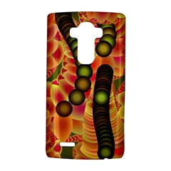 Abstract Background Digital Green LG G4 Hardshell Case
