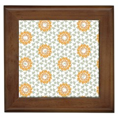 Stamping Pattern Fashion Background Framed Tiles