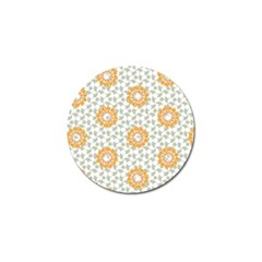 Stamping Pattern Fashion Background Golf Ball Marker