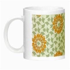 Stamping Pattern Fashion Background Night Luminous Mugs