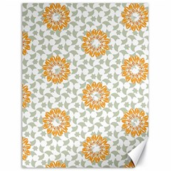 Stamping Pattern Fashion Background Canvas 18  X 24