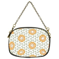 Stamping Pattern Fashion Background Chain Purses (one Side)