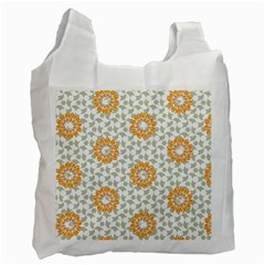 Stamping Pattern Fashion Background Recycle Bag (One Side)