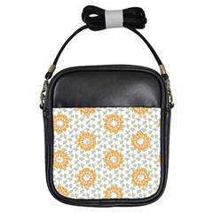 Stamping Pattern Fashion Background Girls Sling Bags