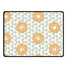 Stamping Pattern Fashion Background Fleece Blanket (Small)