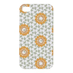 Stamping Pattern Fashion Background Apple Iphone 4/4s Premium Hardshell Case
