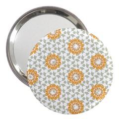 Stamping Pattern Fashion Background 3  Handbag Mirrors