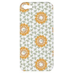 Stamping Pattern Fashion Background Apple Iphone 5 Hardshell Case