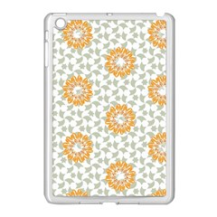 Stamping Pattern Fashion Background Apple iPad Mini Case (White)