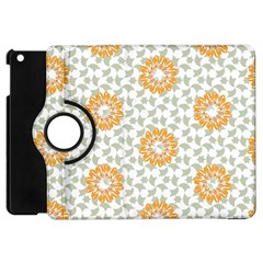 Stamping Pattern Fashion Background Apple Ipad Mini Flip 360 Case