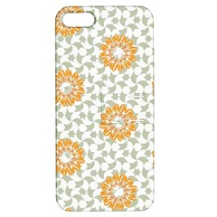Stamping Pattern Fashion Background Apple iPhone 5 Hardshell Case with Stand