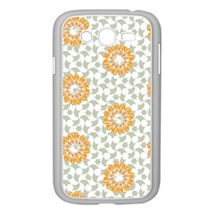 Stamping Pattern Fashion Background Samsung Galaxy Grand DUOS I9082 Case (White)
