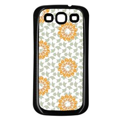 Stamping Pattern Fashion Background Samsung Galaxy S3 Back Case (black)