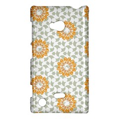 Stamping Pattern Fashion Background Nokia Lumia 720