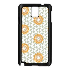 Stamping Pattern Fashion Background Samsung Galaxy Note 3 N9005 Case (black)