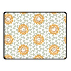 Stamping Pattern Fashion Background Double Sided Fleece Blanket (small)