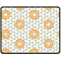 Stamping Pattern Fashion Background Double Sided Fleece Blanket (medium)