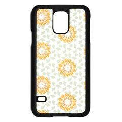 Stamping Pattern Fashion Background Samsung Galaxy S5 Case (Black)