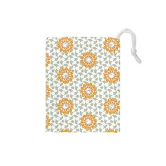 Stamping Pattern Fashion Background Drawstring Pouches (Small)