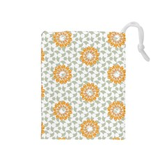 Stamping Pattern Fashion Background Drawstring Pouches (medium)
