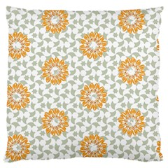 Stamping Pattern Fashion Background Large Flano Cushion Case (One Side)