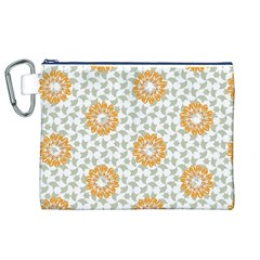 Stamping Pattern Fashion Background Canvas Cosmetic Bag (XL)
