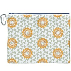 Stamping Pattern Fashion Background Canvas Cosmetic Bag (xxxl)