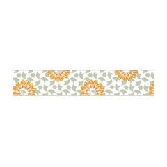 Stamping Pattern Fashion Background Flano Scarf (Mini)