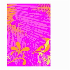 Spring Tropical Floral Palm Bird Small Garden Flag (Two Sides)