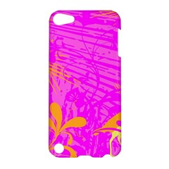 Spring Tropical Floral Palm Bird Apple Ipod Touch 5 Hardshell Case