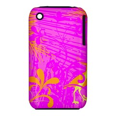 Spring Tropical Floral Palm Bird iPhone 3S/3GS