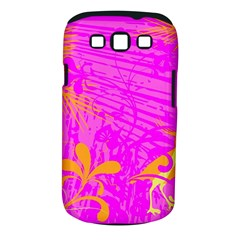 Spring Tropical Floral Palm Bird Samsung Galaxy S III Classic Hardshell Case (PC+Silicone)