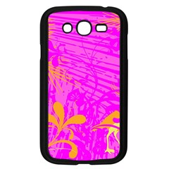 Spring Tropical Floral Palm Bird Samsung Galaxy Grand Duos I9082 Case (black)