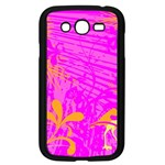 Spring Tropical Floral Palm Bird Samsung Galaxy Grand DUOS I9082 Case (Black) Front
