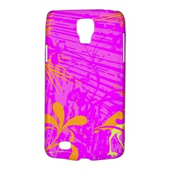 Spring Tropical Floral Palm Bird Galaxy S4 Active